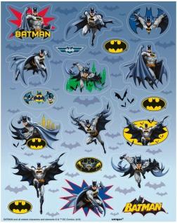 4 Batman Sticker Bogen