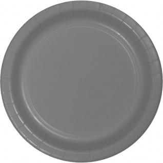 24 Papp Teller Grau