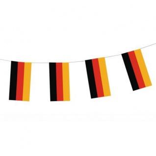 Deutschland Flaggen Girlande aus Papier