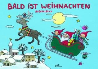 Weihnachts Malbuch - Vorschau