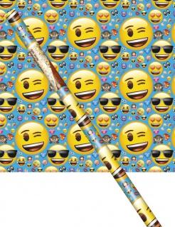 Emoji Faces Geschenkpapier
