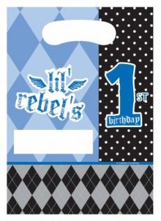 8 Erster Geburtstag Rebel Party Tüten