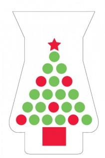 20 Weihnachtsbaum Zellophantüten