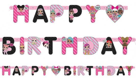 L.O.L. Surprise! Geburtstags Girlande