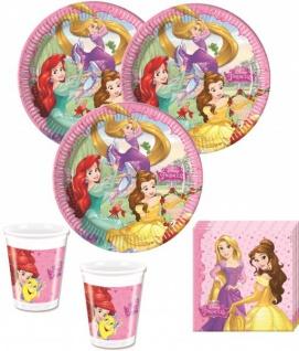 52 Teile Disney's Princess Dreaming Party Set für 16 Kinder