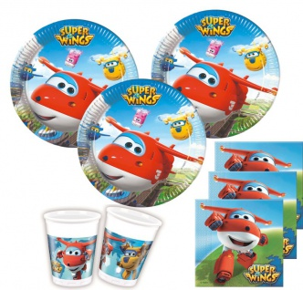 52 Teile Super Wings Party Deko Set 16 Kinder