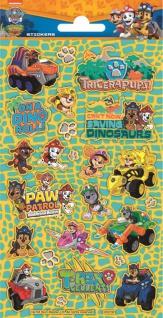 1 Bogen Paw Patrol Dino Rescue Papier Sticker