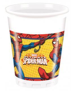 8 Becher Spider-Man Ultimate Power