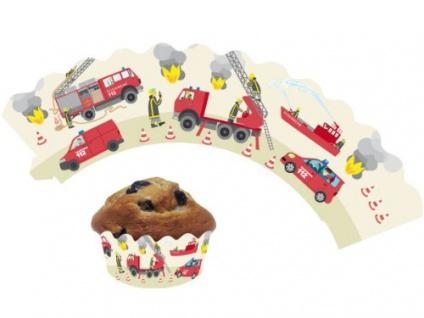 12 Muffin Wraps Feuerwehr