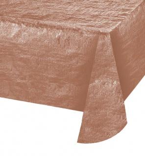 Tischdecke Rose Gold Metallic 137x274 cm