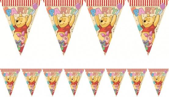 48 Teile Disney Winnie Puuh Party Deko Set für 8 Kinder - Vorschau 3
