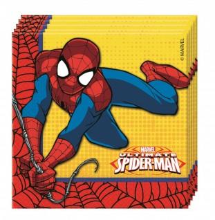 20 Servietten Spider-Man Ultimate Power
