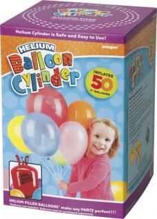 Ballongas Helium für 50 kleine Ballons