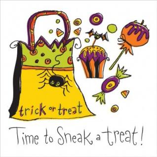 Halloween Treats kleine Servietten