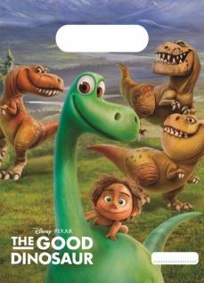 6 Dinosaurier Party Tüten Arlo und Spot