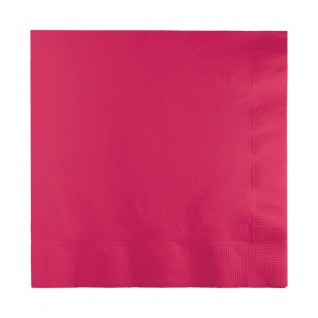20 kleine Servietten Pink Magenta