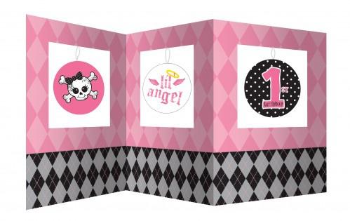 XXL 70 Teile Party Deko Spar Set 1. Geburtstag Angel für 8 Personen - Vorschau 2