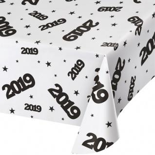 Plastik Tischdecke 2019