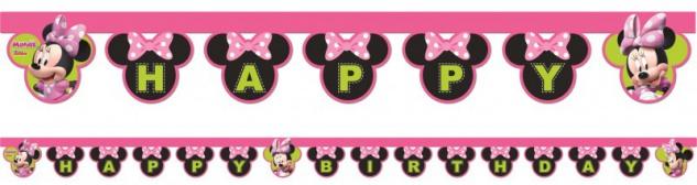 XXL 84 Teile Disney Minnie Maus Happy in Pink Party Deko Set - für 6 - 8  Kinder