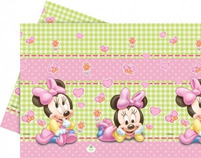 Baby Minnie Plastik Tischdecke