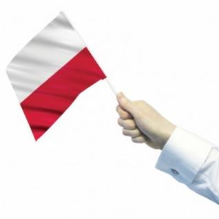 12 Fähnchen Polen