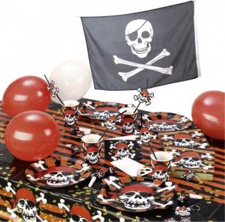 6 Jolly Roger Einladungen - Vorschau 2