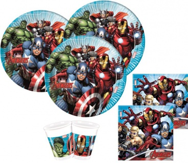 20 Servietten MIGHTY Avengers - Vorschau 2