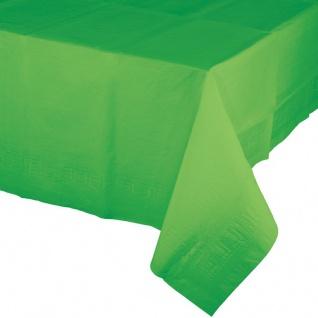 Papier Tischdecke Limonen Grün