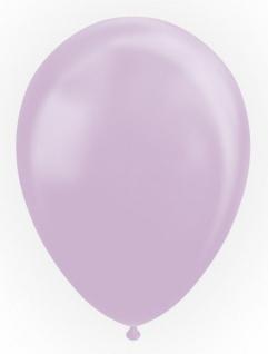 10 Luftballons in Lavendel mit Perlmutt Glanz 30cm