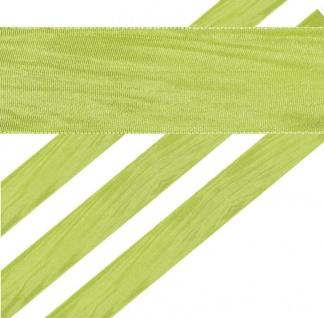 Geschenkband in Grün 4 cm breit 2 Meter lang