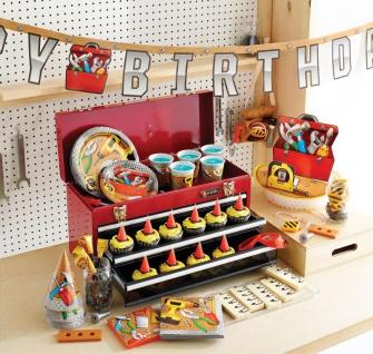 Geburtstags Girlande kleine Handwerker Party - Vorschau 3