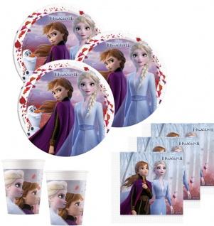 36 Teile Die Eiskönigin 2 Party Deko Set für 8 Kinder