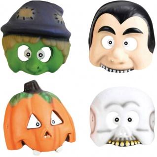 4 Masken Halloween