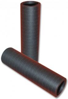 Papier Luftschlangen Schwarz - 1 Rolle a 20 Wurf flammensicher