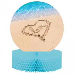 Tischaufsteller Beach Love