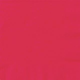20 Servietten Rot - Vorschau 1