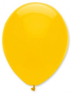 6 Luftballons Sonnen Gelb