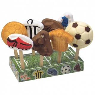 Fußball Cake Pops Servierständer