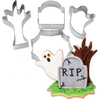 4 Halloween Keks Ausstecher