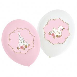 6 Luftballons Prinzessin für einen Tag