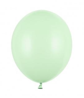 10 Luftballons Pastell Mint Grün 27cm