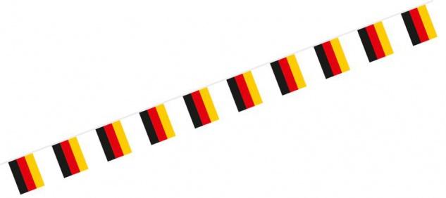 Flaggen Girlande Deutschland aus Stoff