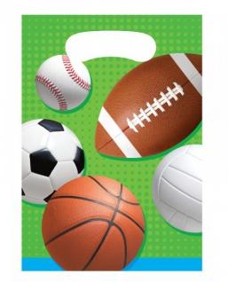 8 Party Tüten Ballsport
