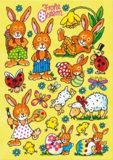 Fensterbild Frohe Ostern