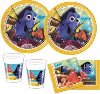 36 Teile Disney Findet Nemo Party Deko Basis Set - für 8 Kinder