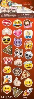 1 Bogen Emoji Soft Sticker