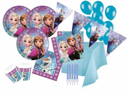 XXL 84 Teile Eiskönigin Party Deko Set für 16 Kinder