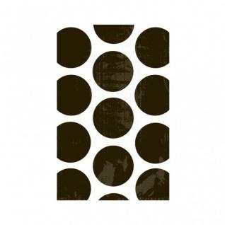 10 Papiertüten schwarze Punkte