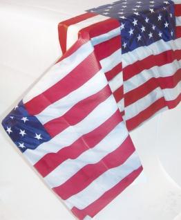 Papier Tischdecke USA Amerika