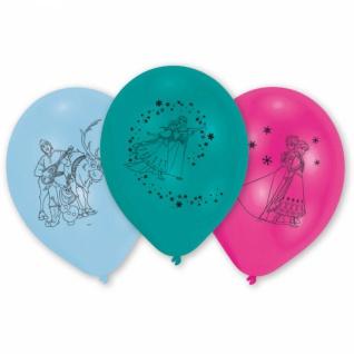 10 Luftballons Frozen die Eiskönigin